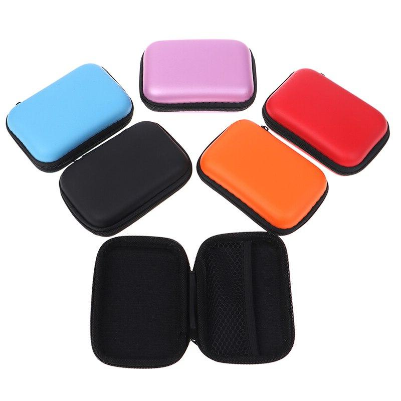 Portable Storage Mini Box <font><b>Compact</b></font> Waterproof Case bag <font><b>Camera</b></font> earphone