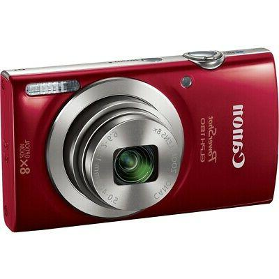 Canon Megapixel Camera Red