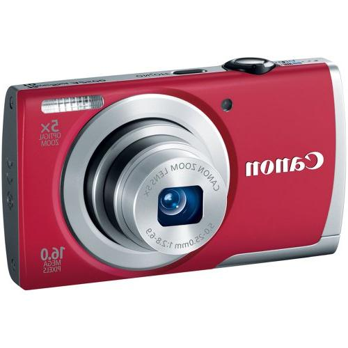 Canon PowerShot A2500 Digital Optical Image with 2.7-Inch