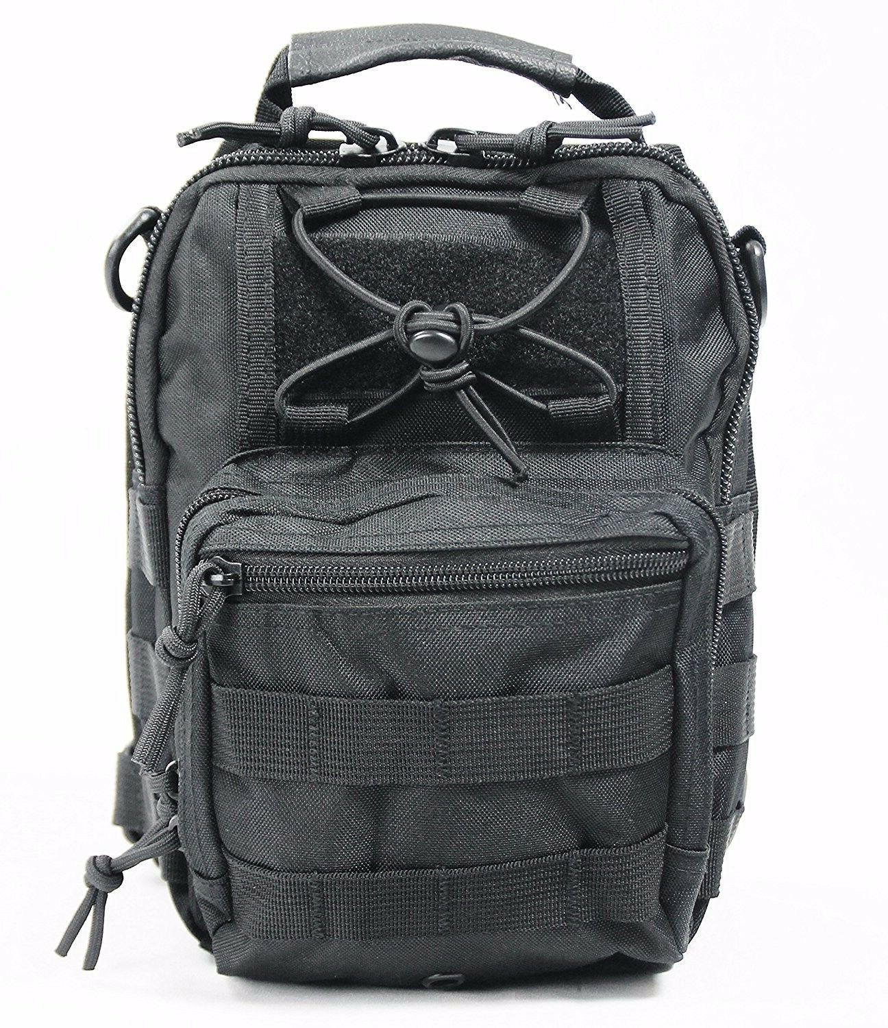Small Compact Back Pack Pack Camera Bag Black