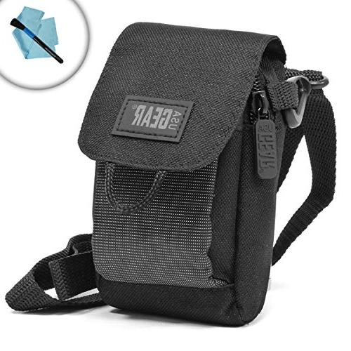 Soft Carrying Camera Case with Accessory Pocket, Adjustable