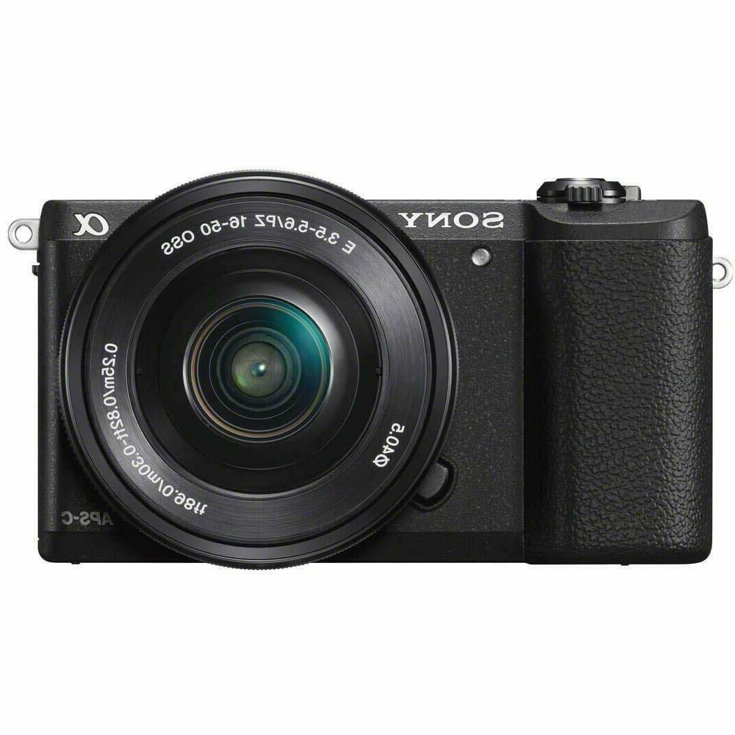 sony a5100 16 50mm mirrorless digital camera