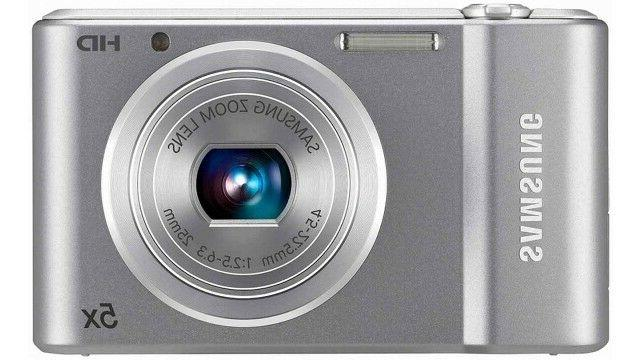 st66 16 mp compact digital camera silver
