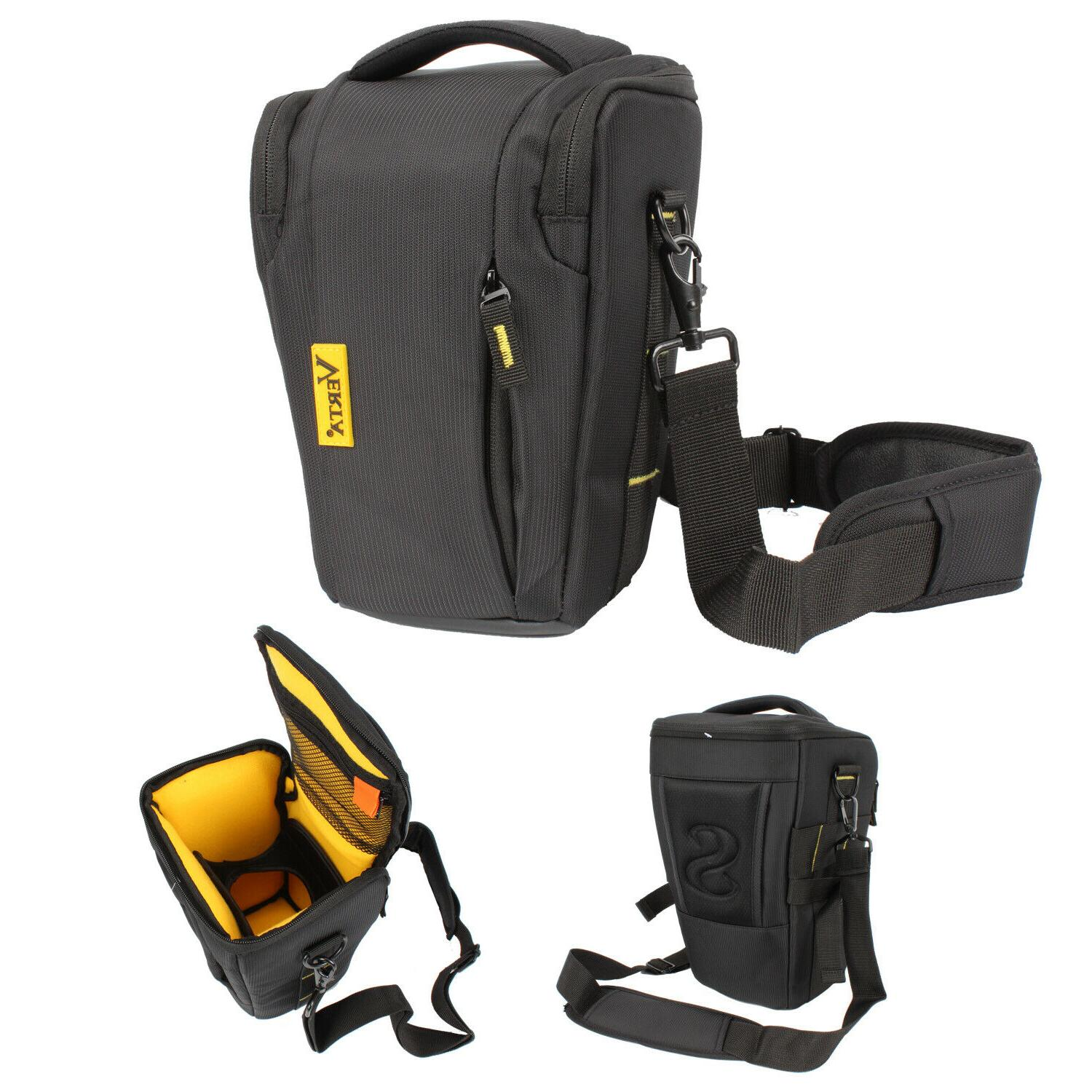 top load holster camera bag compact large