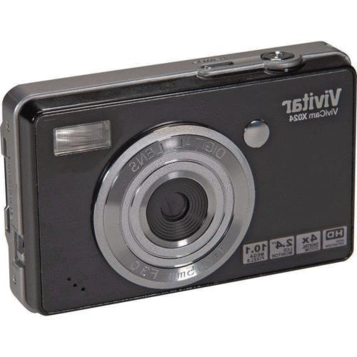 vx024 compact 10 1mp digital camera black