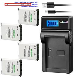 Kastar LCD Charger Battery for Sony NP-BJ1 & Sony DSC-RX0 Ul