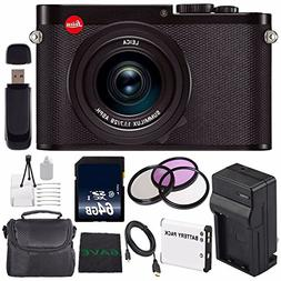 Leica Q  Digital Camera + Extra Battery + 64GB Memory Card +
