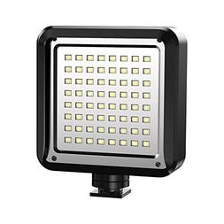 LED Video Light, AOOE 64 LED Ultra Bright Dimmable Camera Pa