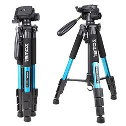 "ZOMEI 55"" Lightweight Compact Travel Portable Camera Tripod"