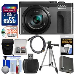 Panasonic Lumix DC-ZS70 4K Wi-Fi Digital Camera  with 32GB C