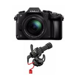 PANASONIC LUMIX G85 4K Mirrorless Camera with Rode VideoMicr