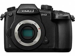PANASONIC LUMIX GH5 Body 4K Mirrorless Camera, 20.3 Megapixe