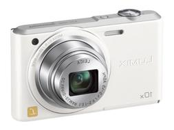 Panasonic Lumix digital camera SZ3 10x optical white DMC-SZ3