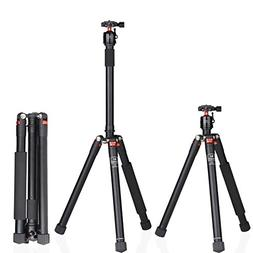 Marsace A15I DSLR Tripod, Ultra Compact and Lightweight Alum