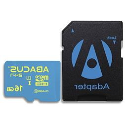 Abacus24-7 16 GB Memory Card microSD with SD Adapter for KOD