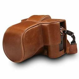 MegaGear MG1551 Ever Ready Genuine Leather Camera Case for F