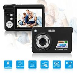 HD Mini Digital Camera with 2.7 inch TFT LCD Display,Digital