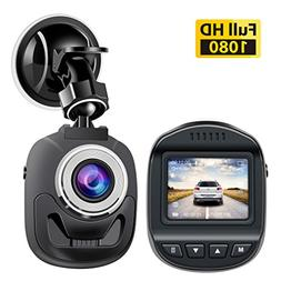 Accfly Dash Cam 1080P,Mini Dash Cam Dash Camera with 120 Deg