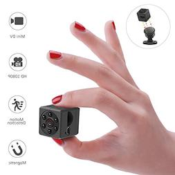 WIRKE Mini Hidden Spy Magnetic Camera,1080P HD Portable Vide