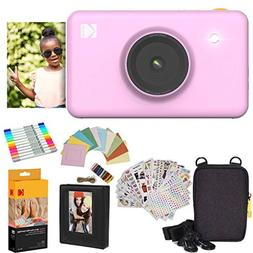 Kodak Mini Shot Instant Camera  Gift Bundle + Paper  + Delux
