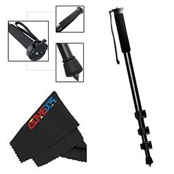 """Professional 72"""" Monopod for Cameras And Camcorders + PixiBy"""