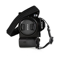 Foto&Tech Padded Neck Shoulder Strap with Black Grosgrain Ti