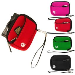 Vangoddy Small Digital Camera Sleeve Case Pouch Bag for Canon Powershot IXUS190