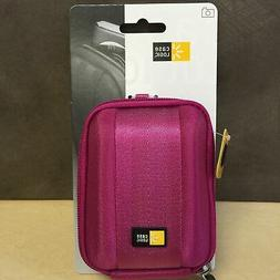 NEW, Case Logic - Compact Camera Case Model QPB-201 , Magent