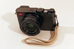 New Leica Digital Compact Leather Wrist Strap #18792 - Close