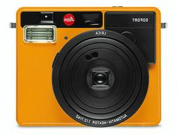 New Leica Sofort Instant Film Camera Orange Fuji Fujifilm In