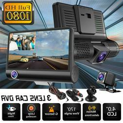 HD 1080P Night Vision Car Video Recorder Camera Vehicle Dash