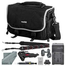 Nikon Compact Digitial Slr Accessories Bag + EN EL 14A Repla