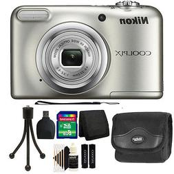 Nikon COOLPIX A10 16.1 MP Compact Digital Camera + Top Acces