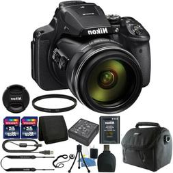 Nikon Coolpix P900 16.0 MP 83X Optical Zoom Compact Digital