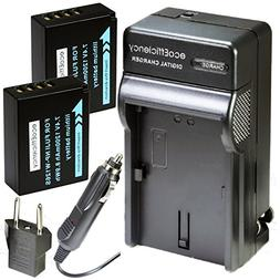 ecoEfficiency 2 NP-W126S Batteries and Charger for FujiFilm