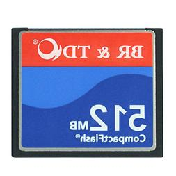 Ogrinal 512MB Type I 80X Compact Flash memory card BR&TD cam