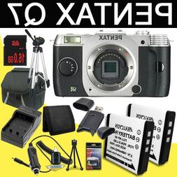 Pentax Q7 12.4MP Compact System Camera with 3-Inch LCD - Bod