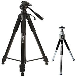 Polaroid 72-inch Photo / Video ProPod Tripod Includes Deluxe