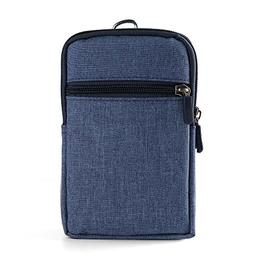 Portable Compact Point and Shoot Padded Blue Camera Case for