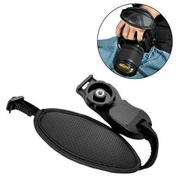 Portable Camera Leather Hand Grip Strap Wrist Strap Belt for