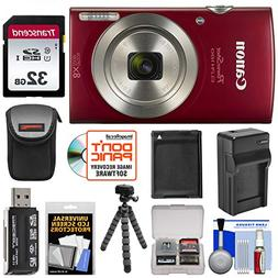 Bundle PowerShot Elph 180 Digital Camera - Digital Camera, T