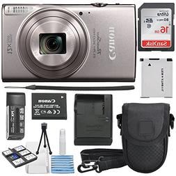 Canon PowerShot ELPH 360 HS Silver with 12x Optical Zoom and