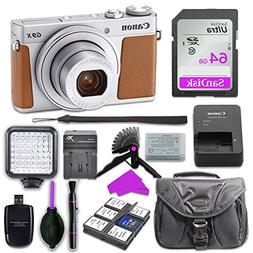 Canon PowerShot G9 X Mark II Digital Camera  with Built-in W