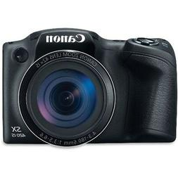 Canon PowerShot SX420 IS 20 Megapixel Compact Camera - Black