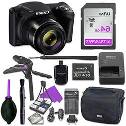 Canon Powershot SX420 Point & Shoot Digital Camera Bundle w/