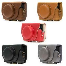 MegaGear Protective Leather Camera Case for Sony RX100 VI, R