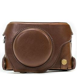 """MegaGear""""Ever Ready"""" Protective Leather Camera Case, Bag for"""