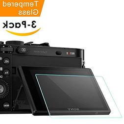 Screen Protector for Sony RX100VI RX100III RX100II RX100 IV