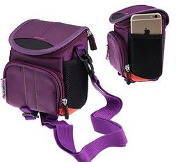 Navitech Purple Digital Camera Case Bag Cover For The Kodak