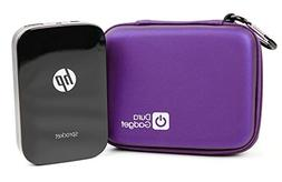 DURAGADGET Purple EVA Case With Soft Lining - Compatible wit